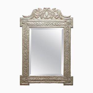 Indischer Silber Repuse Wandspiegel