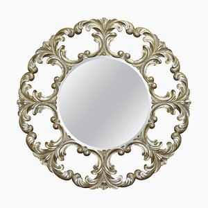 Gold and Silver Leaf Giltwood Wall Mirror from Christopher Guy