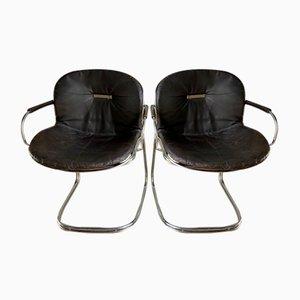 Armchairs by Gastone Rinaldi, 1970, Set of 2