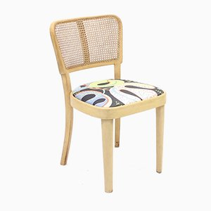 Thonet Chair with Josef Frank Fabric, 1950s