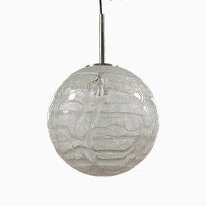 Mid-Century Modern Milchglas Hängelampe von Doria für Doria Leuchten, 1960er