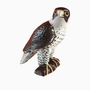 Figura de halcón peregrino sueco de gres de Lisa Larson para Gustavsberg, 1981