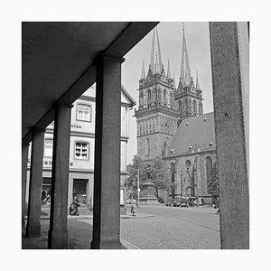 Evangelische St. Martins Kirche in Kassel, Deutschland 1937, 2021