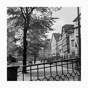 Timbered Houses at the Inner City of Kassel, Germany 1937, 2021