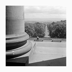 View from the Castle-Gate of Wilhelmshoehe to Kassel, Germany 1937, 2021