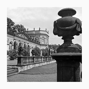 View to Wilhelmshoehe Castle at Kassel, Germany 1937, 2021