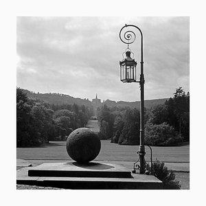 Blick auf den Park in Kassel von Schloss Wilhelmshoehe, Deutschland 1937, 2021