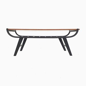 Mid-Century Coffee Table with Reversible Top, The Netherlands, 1950s