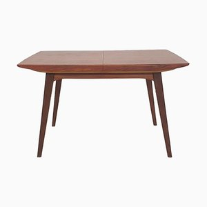 Teak Extendable Dining Table by Louis Van Teeffelen for Webe, The Netherlands, 1950s