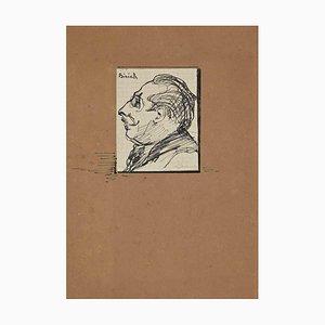 Inconnu, Le Portrait, Dessin, Début 20ème Siècle