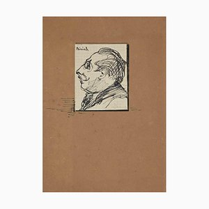 Unknown, The Portrait, Drawing, Early 20th Century