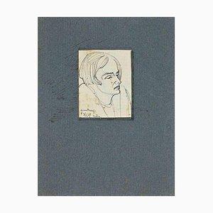 Inconnu, Le Portrait, Dessin, 1929