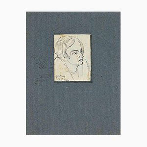 Unknown, The Portrait, Drawing, 1929