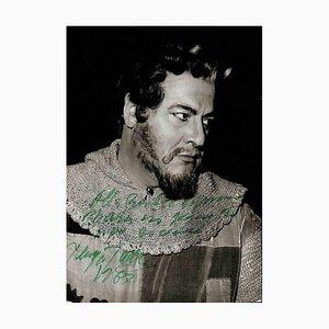 Unbekannt, Giuseppe Taddei Autogramm, 1987