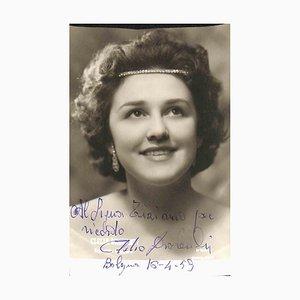 Unknown, Clelia Drovandi Autographed Photo, 1959
