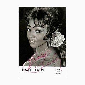 Unbekannt, Grace Bumbry Autogramm, 1960