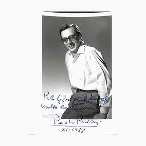 Unbekannt, Paolo Pedani Autogramm, 1955
