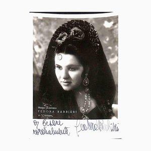 Unbekannt, Fedora Barbieri Autogramm Fotografie-1950