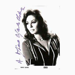 Unbekannt, Maria Chiara Autogramm, 1960er