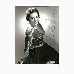 Unbekannt, Gabriella Tucci Autogramm, 1950