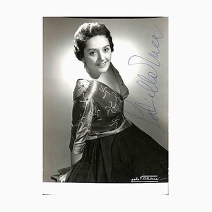 Unknown, Gabriella Tucci Autographed Photograph, 1950