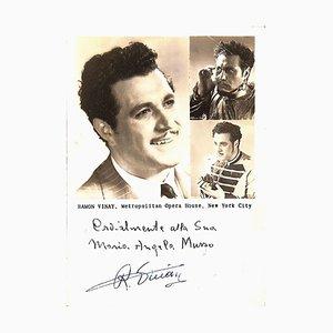 Unbekannt, Ramón Vinay Autogramm, 1940er