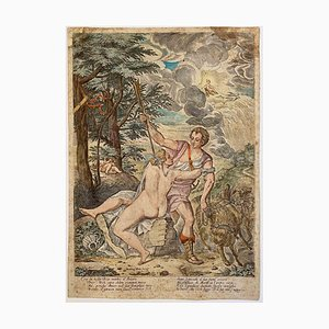 Martino Rota, Goddess of Love, Etching, 17th Century