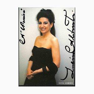 Unbekannt, Lucia Aliberti Autogramm, 1990er