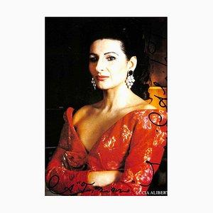 Unknown, Lucia Aliberti Autographed Photograph, 1990s