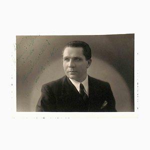 Unknown, Alfonso Pravadelli Autographed Photograph, 1942