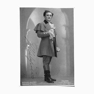 Unknown, Giovanni Malipiero, Photograph, 1940s