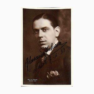 Unbekannt, Alessandro Ziliani Autogramm, 1933