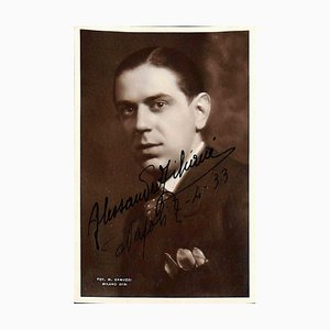 Unknown, Alessandro Ziliani Autographed Photograph, 1933
