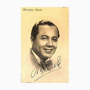 Unbekannt, Alejandro Granda Relayza Autogramm, 1930