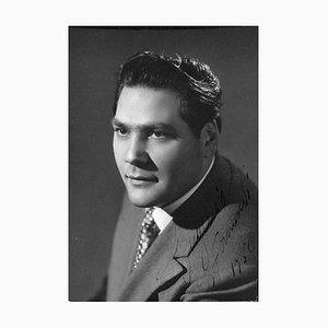Unknown, Eugenio Fernandi Autographed Photograph, 1958
