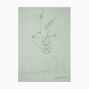 Leo Guide, Skizze, Zeichnung, 1971