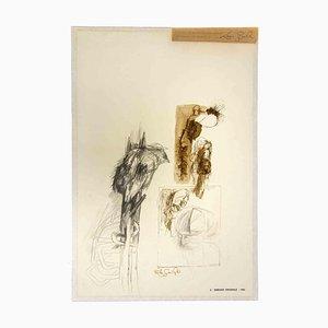 Leo Guide, Skizze, Zeichnung, 1963