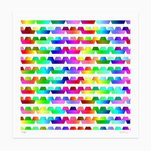 Dadodu, Color Waves, Giclée, 2013