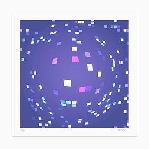 Dadodu, Violet Composition, Giclée, 2010
