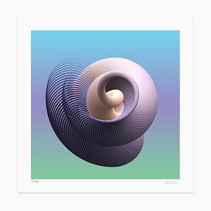Dadodu, Spiral Curves, Giclée, 2019