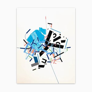 Dive Icehhi 6, Abstraktes Gemälde, 2021