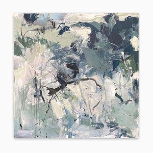 Iced Over, Abstraktes Gemälde, 2019