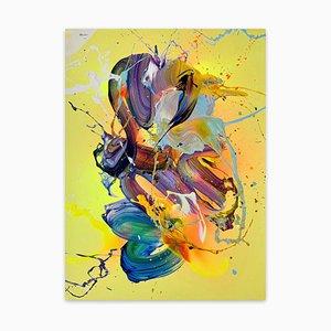 Abstract Day, abstrakte Malerei, 2021