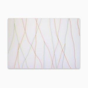 Brand New Day, Abstraktes Gemälde, 2018