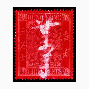 Hong Kong Stamp Collection, QV 3 Cents, Color Photography, 2017
