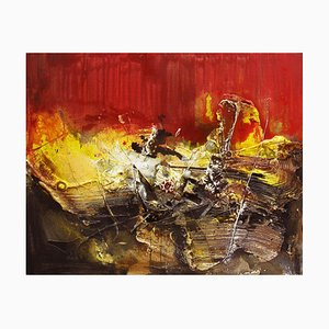 Chinese Contemporary Art by Dang Bao-Hua, 8.1 Red, 2010