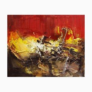 Chinese Contemporary Art von Dang Bao-Hua, 8,1 Rot, 2010