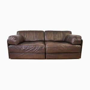 Modular Leather Sofa from de Sede, 1960s