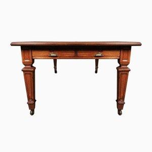 Sehr großer viktorianischer Schreibtisch für mehrere Personen