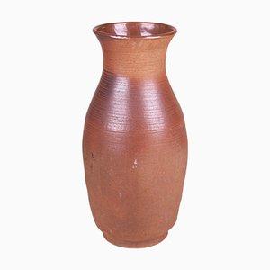 Jarrón checo Mid-Century de cerámica